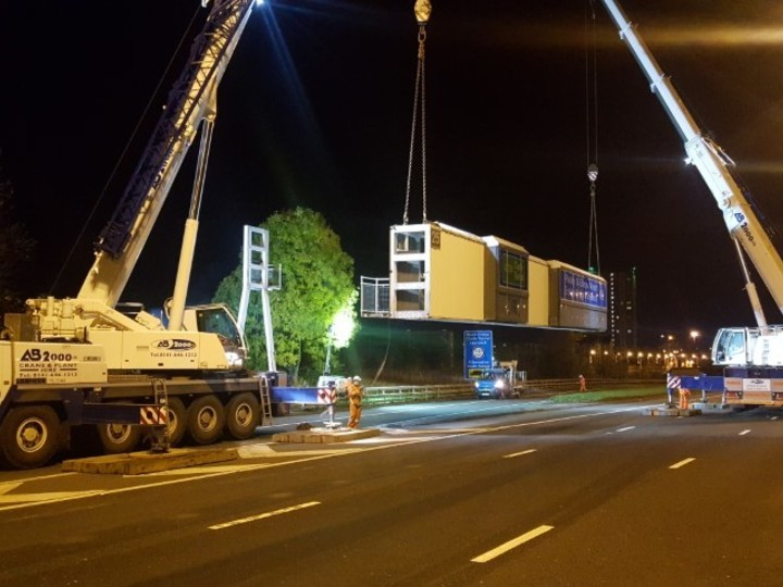 M8 Gantries Refurbishment