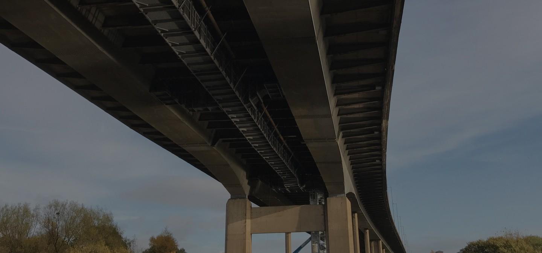 M8 White Cart Viaduct | AmcoGiffen